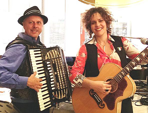Italian Music Duo Melbourne - Hire Wedding Singers - Italian